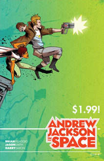 Andrew Jackson in Space #1 on Comixology here