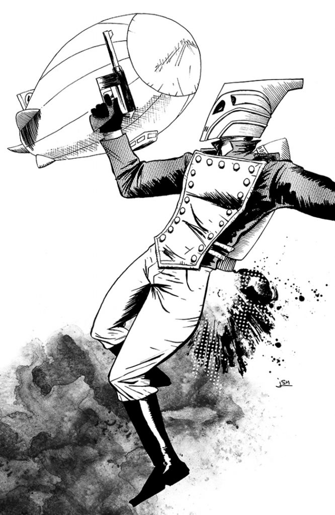 JasonSmith-theRocketeer-inkWashes