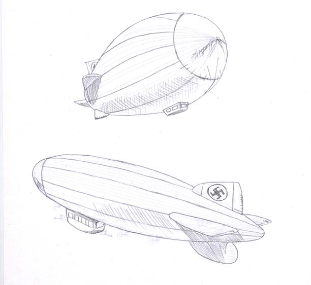theRocketeer-Zepplin-pencils